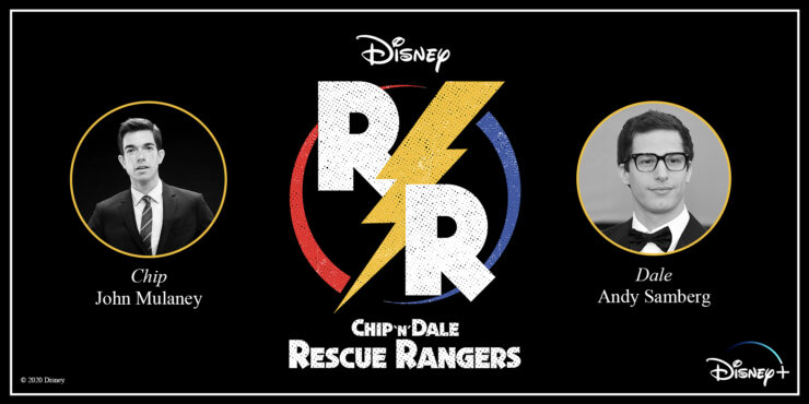 Disney's Chip N' Dale Rescue Rangers Film Announcement