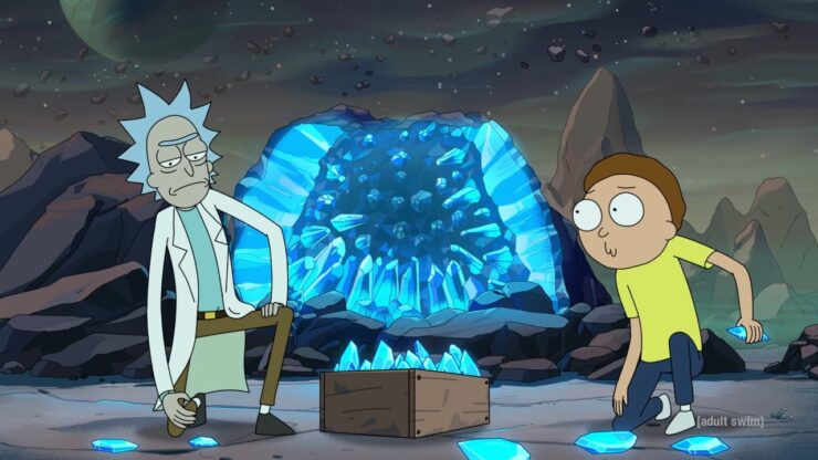 """Image from Rick and Morty episode """"Edge of Tomorty: Rick Die Rickpeat."""""""