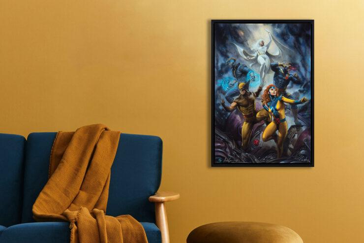 House of X #1 Fine Art Print by Adi Granov Canvas