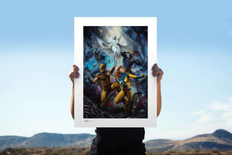 The House of X #1 Fine Art Print by Marvel Comics Artist Adi Granov