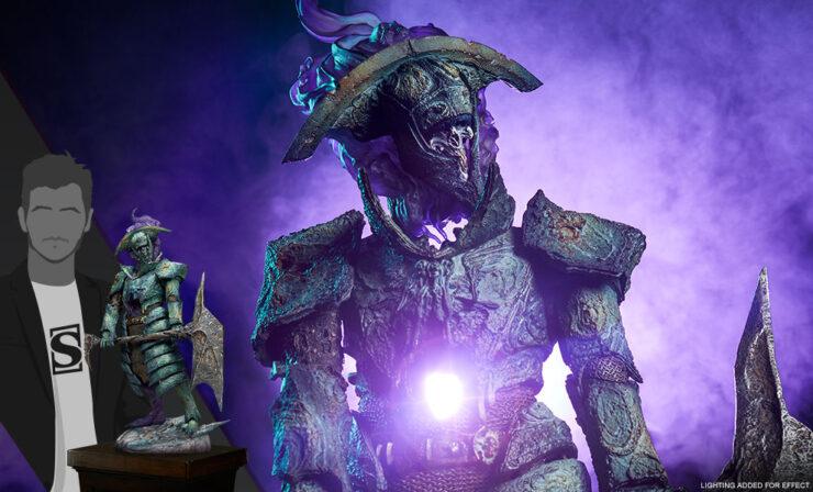 Court of the Dead's Oathbreaker Strÿfe: Fallen Mortis Knight Premium Format™ Figure