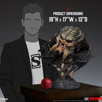 Predator Barbarian Mythos Legendary Scale Bust Size Comparison