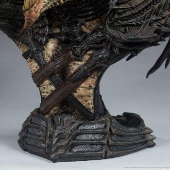 Predator Barbarian Mythos Legendary Scale Bust Base Details Close Up
