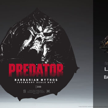 Predator Barbarian Mythos Legendary Scale Bust Underside of Base