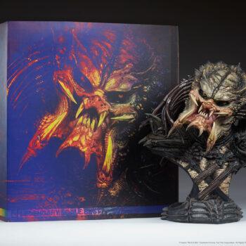 Predator Barbarian Mythos Legendary Scale Bust and Box Comparison