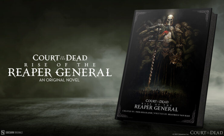 Rise of the Reaper General and The War of Flesh and Bone- Court of the Dead Day 2021 Publishing Reveals