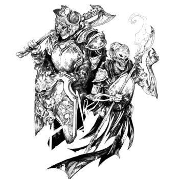 Rise of the Reaper General- Interior Illustrations by Rachel Roubicek