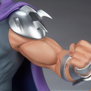 Shredder Fourth Scale Statueleft arm close up
