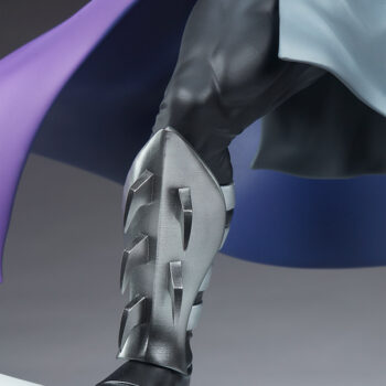 Shredder Fourth Scale Statueright leg close up