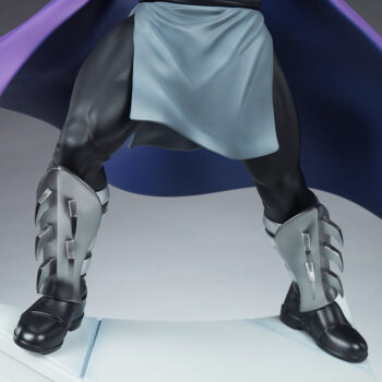 Shredder Fourth Scale Statuelegs close up front view