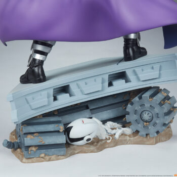 Shredder Fourth Scale Statuebase close up back view