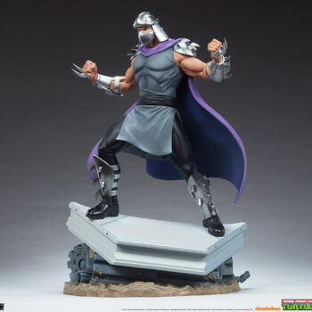 Shredder Fourth Scale Statuefront view
