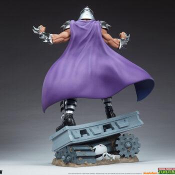 Shredder Fourth Scale Statuefull back view