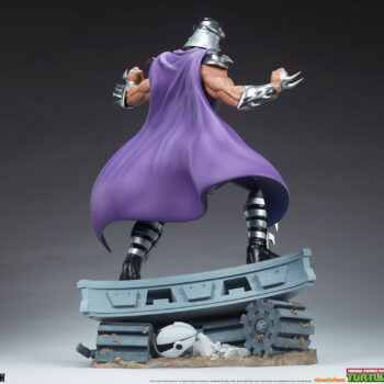 Shredder Fourth Scale Statue3/4 back right view