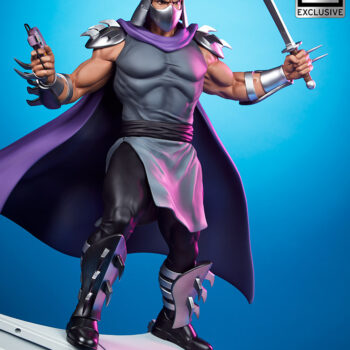 Shredder Fourth Scale StatueTeenage Mutant Ninja Turtle collectibles exclusive full view