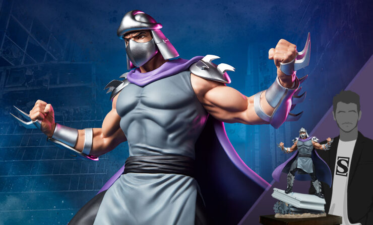 The Shredder 1:4 Scale Statue by PCS- TMNT Collection