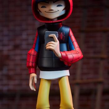 Spider-Man Designer Collectible Toyby artist kaNO