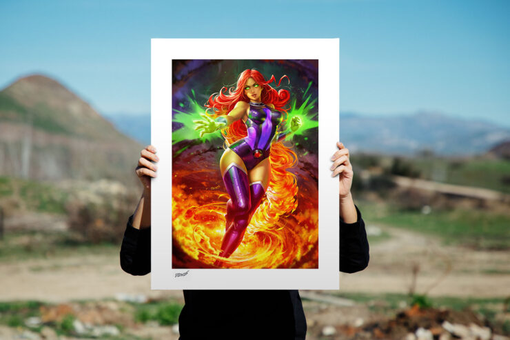 The Starfire Fine Art Print by Artist Derrick Chew, aka DCWJ