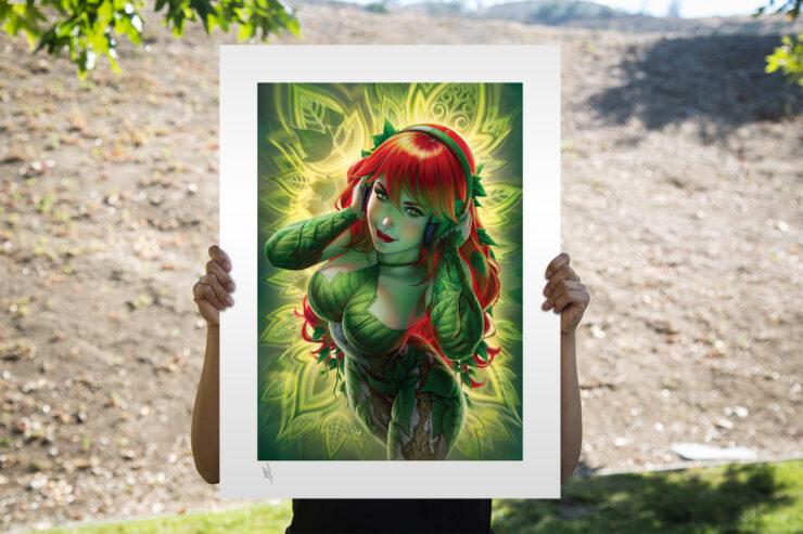 The Poison Ivy Fine Art Print by Illustrator Warren Louw