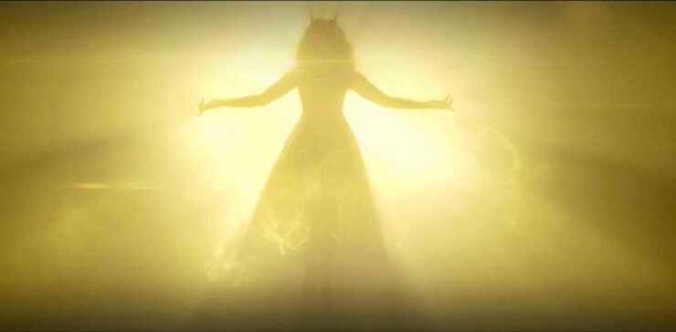 The Scarlet Witch Silhouette