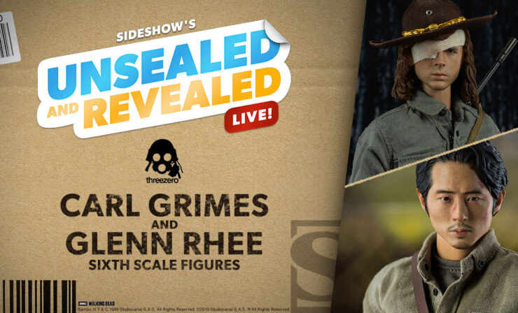 Up Next on Unsealed & Revealed: Carl Grimes and Glenn Rhee by Threezero