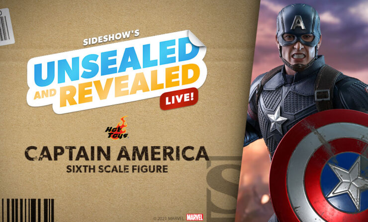 Up Next on Unsealed & Revealed: Avengers: Endgame Captain America by Hot Toys