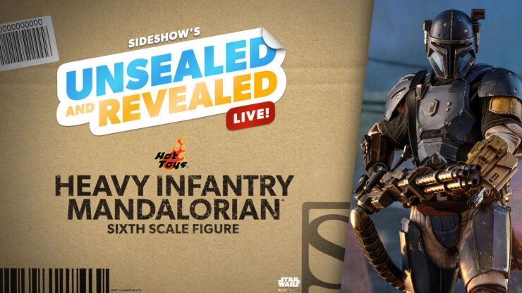 Unsealed & Revealed: Heavy Infantry Mandalorian™ by Hot Toys