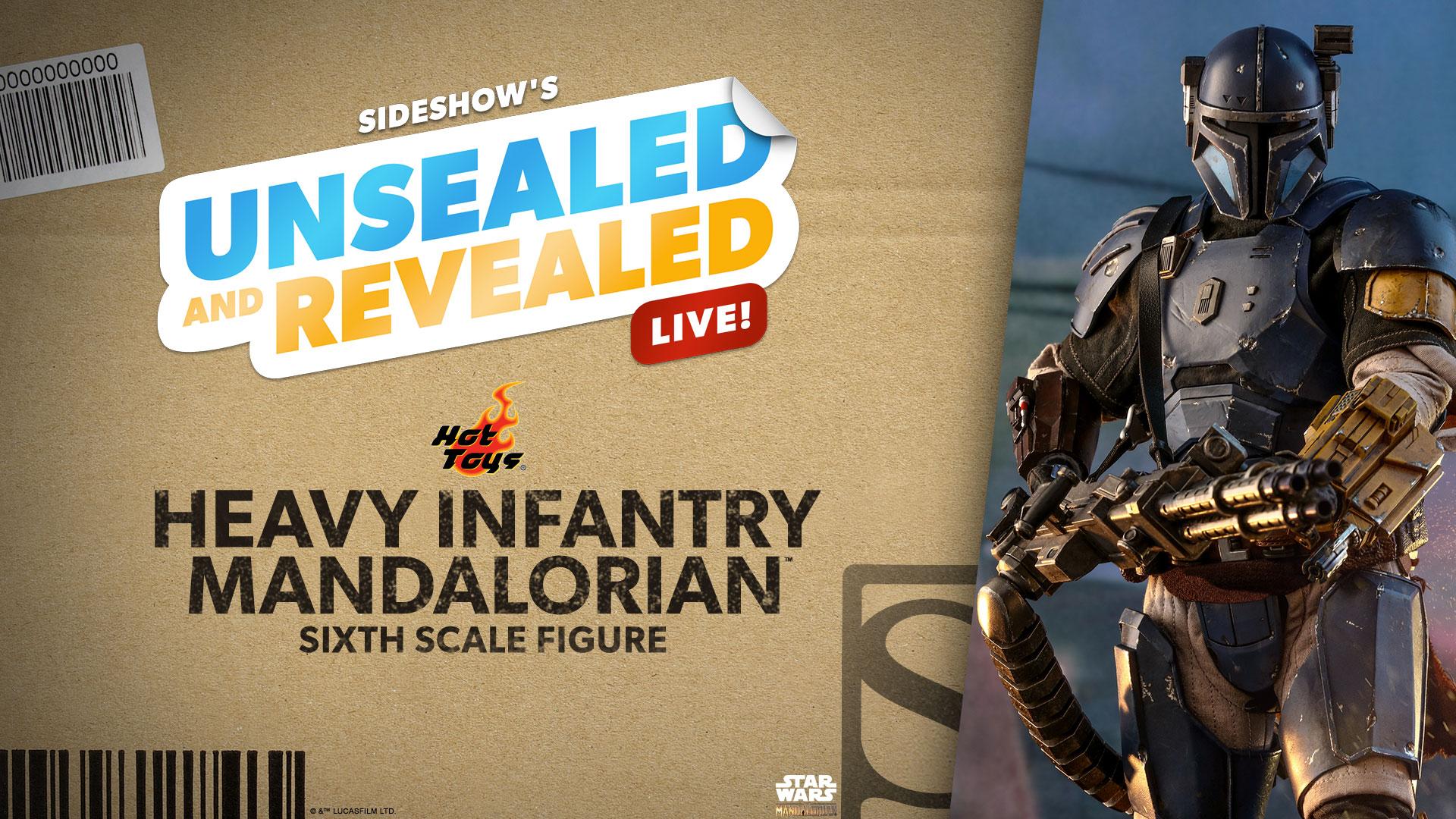 Unsealed and Revealed 2/9/21 Heavy Infantry Mandalorian