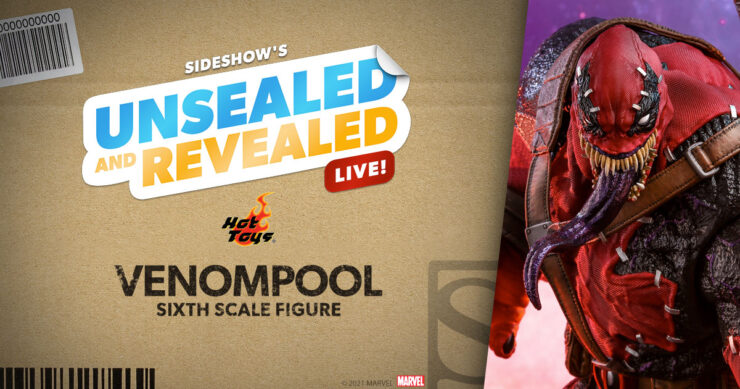Up Next on Unsealed & Revealed: Venompool by Hot Toys