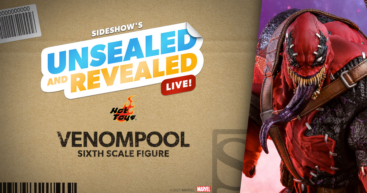 Catch Unsealed and Revealed on 2/16/2021 featuring Venompool by Hot Toys