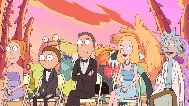 Wedding Squanchers- Rick and Morty