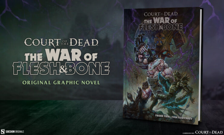The War of Flesh and Bone Graphic Novel- COTD