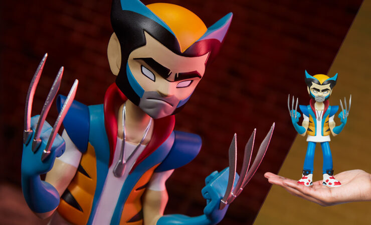 Final Product Photos of the Wolverine Designer Collectible Toy by Artist kaNO