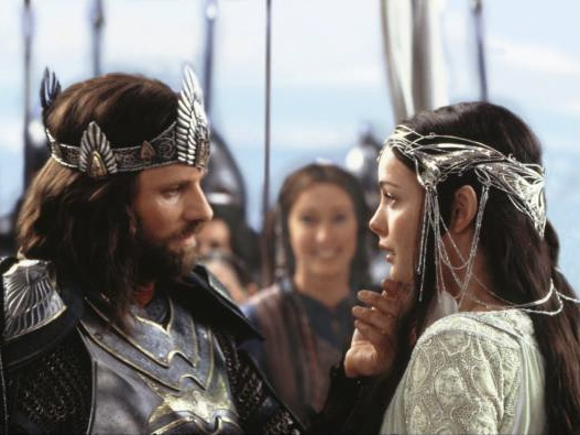 Arwen and Aragorn- Lord of the Rings