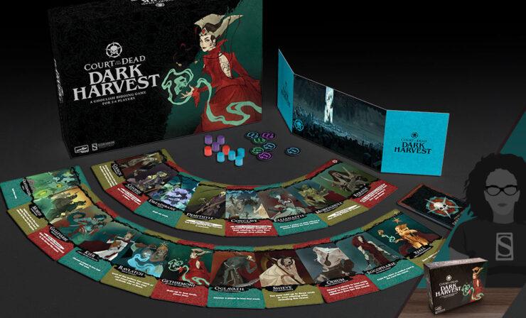 Court of the Dead: Dark Harvest Game