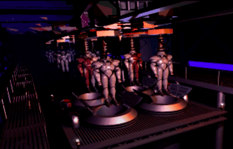 Dark Troopers- Phases