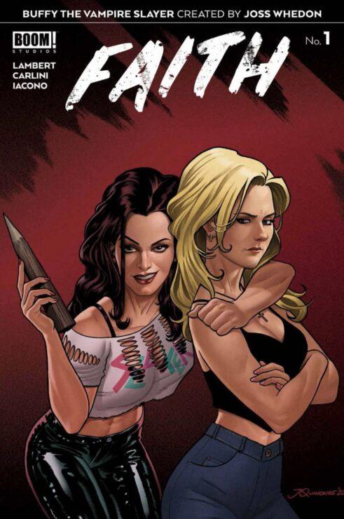 Buffy the Vampire Slayer: Faith #1 (Boom Studios)- Joe Quinones Variant Cover