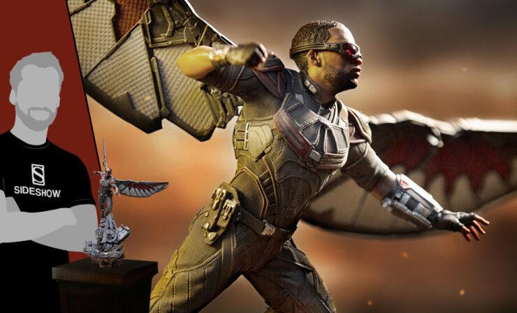 The Falcon 1:10 Scale Statue- Iron Studios