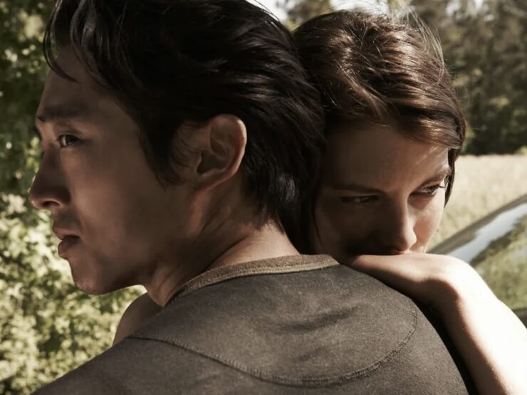 Glenn and Maggie – The Walking Dead