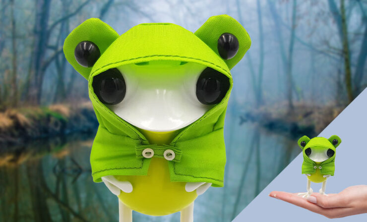 Fashion Your Designer Toy Collection with the APO Frogs Collectibles