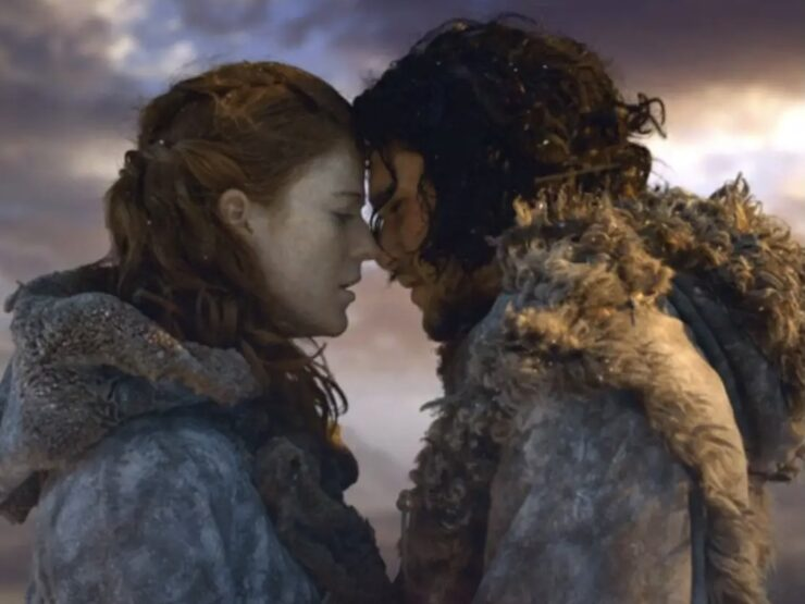 Jon Snow and Ygritte – Game of Thrones