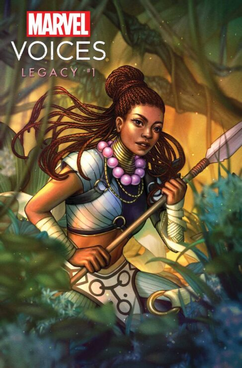 Marvel's Voices: Legacy #1 Shuri Variant Cover