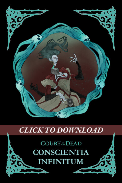 "Claim the Free Original Court of the Dead Story ""Conscientia Infinitum"" for COTD Day 2021"