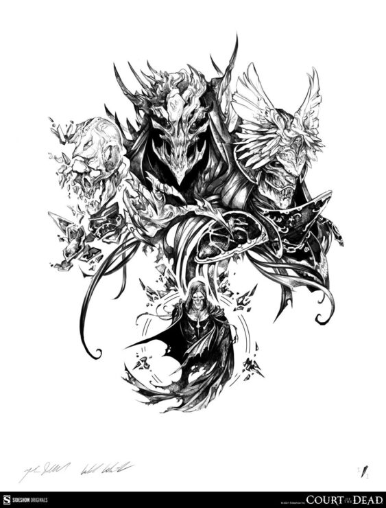 Rise of the Reaper General Giveaway Print