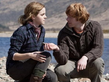 Ron and Hermione – Harry Potter