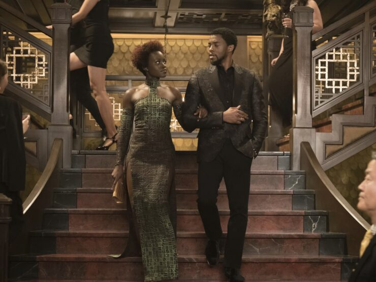T'Challa and Nakia – Black Panther (Marvel)