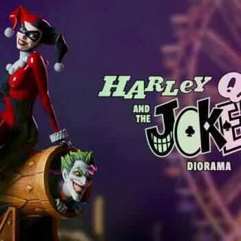 Harley Quinn and The Joker Diorama