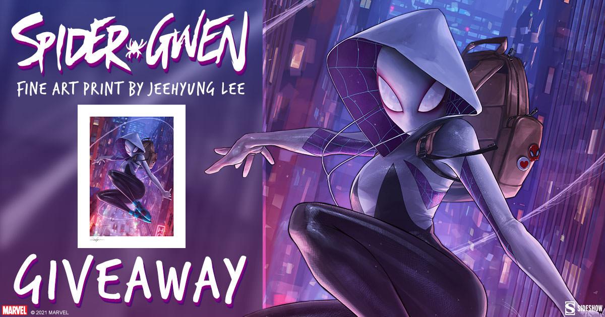 Spider-Gwen Fine Art Print Giveaway