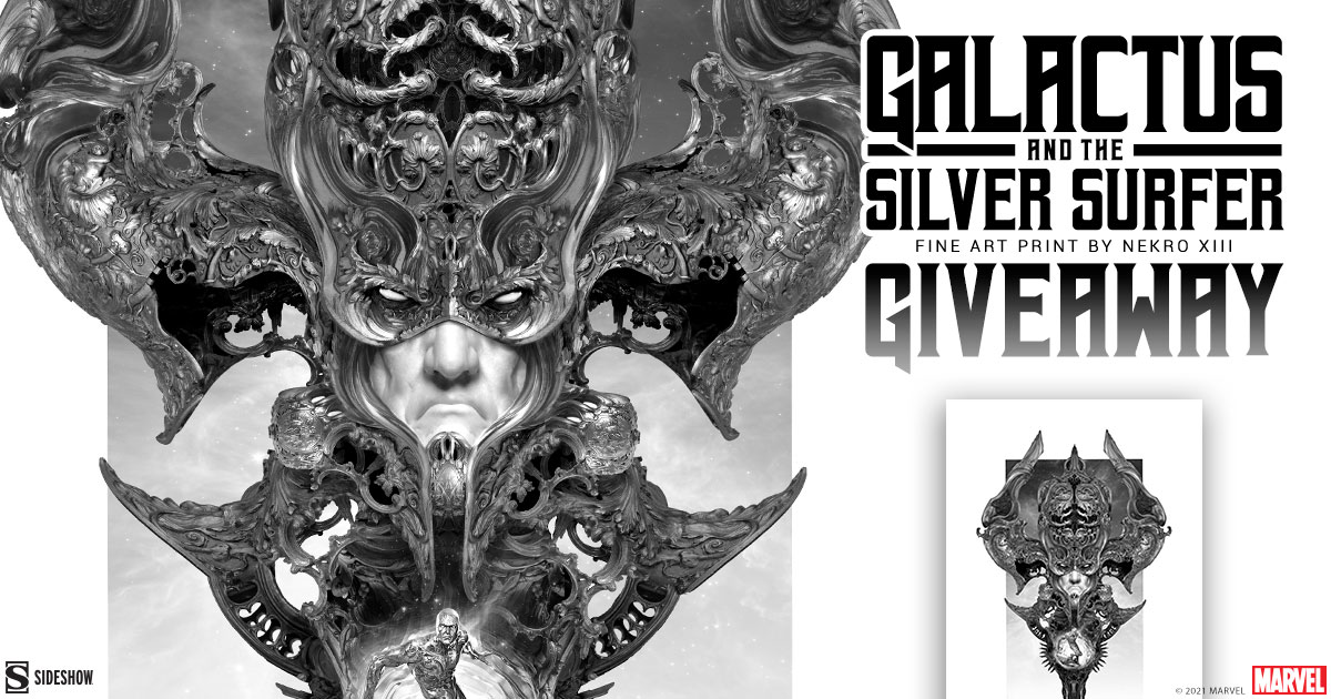Galactus & the Silver Surfer Fine Art Print Giveaway