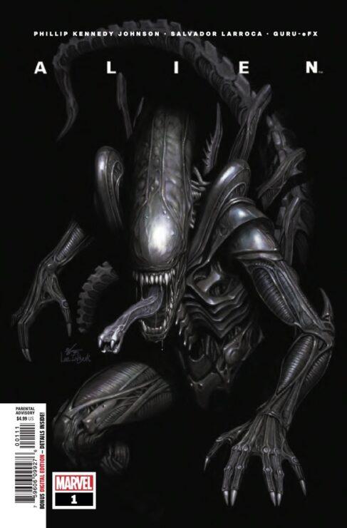 ALIEN #1 Cover (MARVEL)